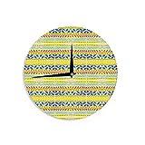 KESS InHouse Nicole Ketchum ''Arabian Bee II'' Wall Clock, 12''