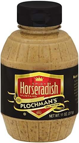 Mustard: Plochman's Spicy Horseradish
