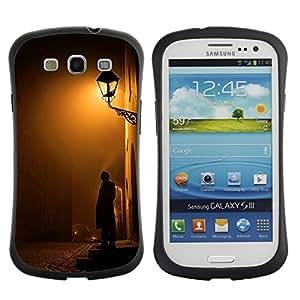 Suave TPU GEL Carcasa Funda Silicona Blando Estuche Caso de protección (para) Samsung Galaxy S3 I9300 / CECELL Phone case / / Cobblestone Yellow Romantic /