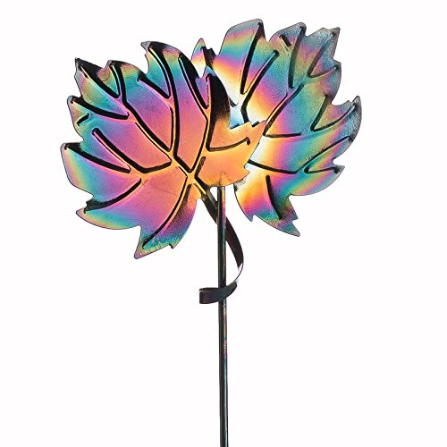 Factory Direct Craft Package of 6 Burnished Metal Maple Leaf Picks for Embellishing Arrangements, Crafting and Creating