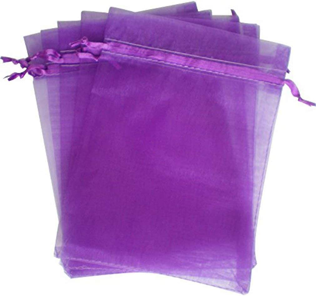 16CM 13 DOXMAL 25PCS Organza Gift Bags Wedding Favor Bags Jewelry Pouches