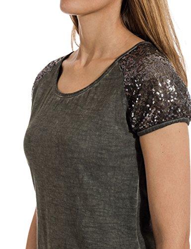 Olive Camiseta Para shirt Grün T Mujer 4059 Timezone summer F0Pwqpc
