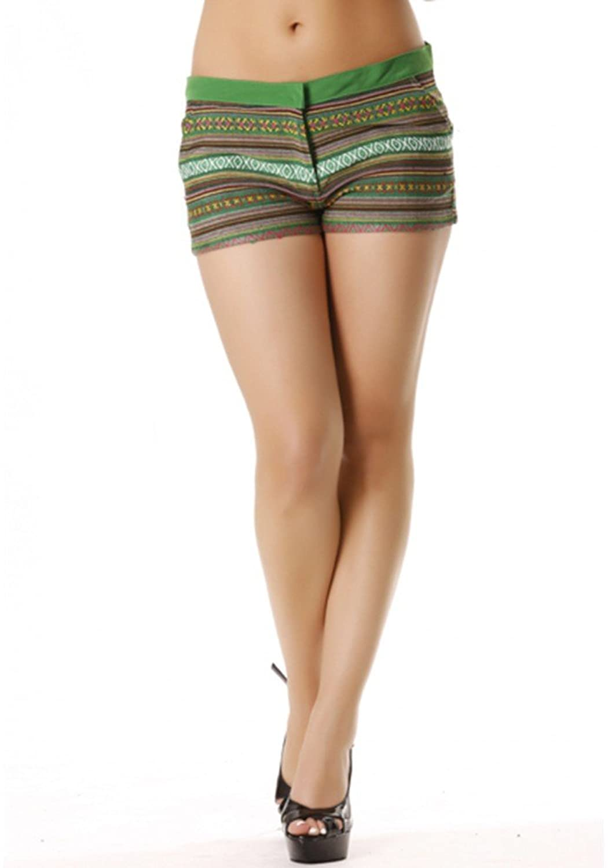 """dmarkevous?-?Mini Women's Shorts Pink Ethnic. Super Fashion 9821"