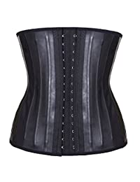 Latex Corset Underbust Waist Cincher 25 pcs Steel Boned Waist Training Corset
