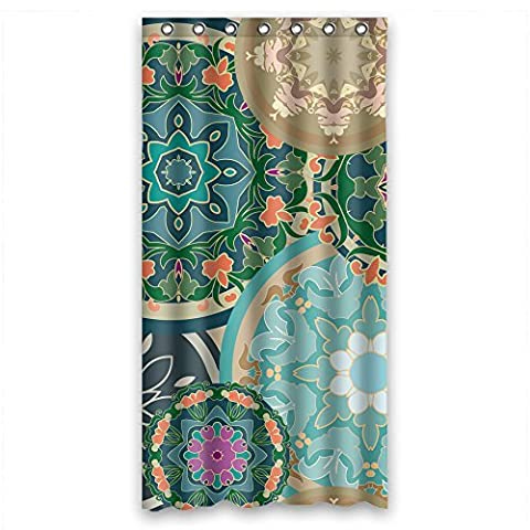 Custom Design Eco-Friendly Bohemian Shower Curtains, Width X Height / 36 X 72 Inches / W H 90 By 180 Cm, Polyester, Best For Husband