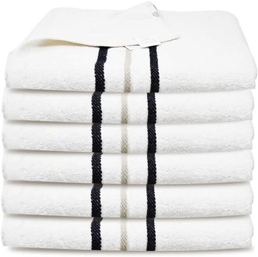 Towelogy Toallas de Mano 100% algodón Egipcio 450 g/m² Gris Grande ...