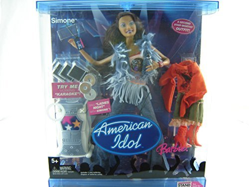 American Idol Barbie Simone (Toy American Idol)