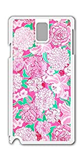 TUTU158600 Hard Plastic and Aluminum Back case for samsung galaxy note3 for girls - lilly pulitzer flower