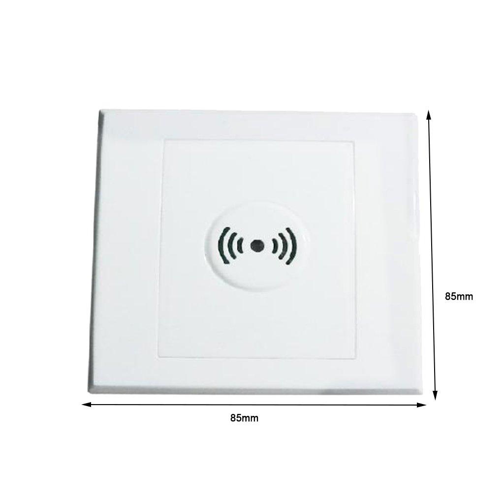 MagiDeal 4 Piezas Interruptor de Luz Controlada por Sonido Rendimiento Sensibilidad de Detecci/ón Accesorios