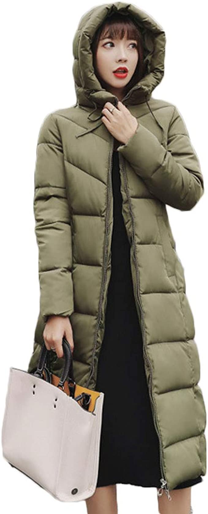 Flygo Mens Winter Coats Hooded Duck Down Parka Coat Jacket