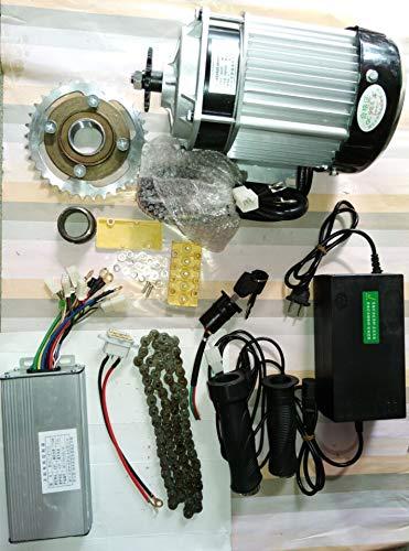 750ワット48ボルトブラシレスギア減速モーター電動自転車変換キットライト電動三輪車キットdiyキット   B07QFH9W89
