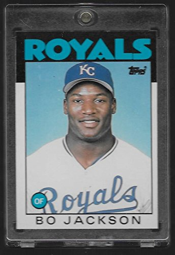 1986 Topps Traded Bo Jackson Rookie Baseball Card #50T - (Fleer Card Baseball Collectible)