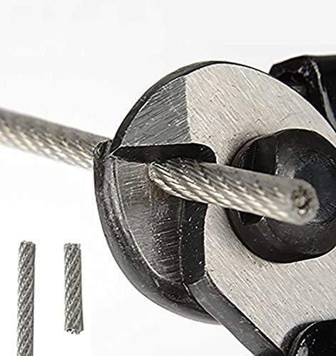 7.5 x 2.2 LYTIVAGEN Alicates de Corte de Acero al Cromo Vanadio Alicate de Corte Diagonal Multifuncional Cortadores de Alambre Tenaza Industrial Alicates para Frenar y Cortar Cable de Freno