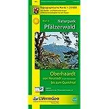 Naturpark Pfälzerwald /Oberhaardt von Neustadt an der Weinstraße bis zum Queichtal: Naturparkkarte 1:25 000 mit Wander- und Radwanderwegen (Freizeitkarten Rheinland-Pfalz 1:15000 /1:25000)