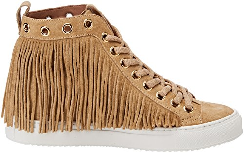 Para Zapatillas Mujer Twinset Cs8tal Chiaro Beige Milano Altas dune qRREwWI7