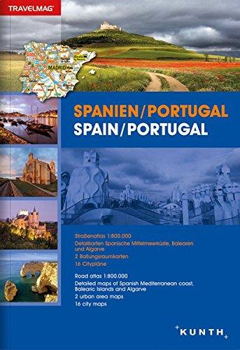 Reiseatlas Spanien / Portugal: 1:300000 / 1:800000 (KUNTH Reiseatlanten) (Englisch) Taschenbuch – 1. März 2016 Kunth Verlag 3955043592 Karten / Stadtpläne / Europa Portugal / Landkarte
