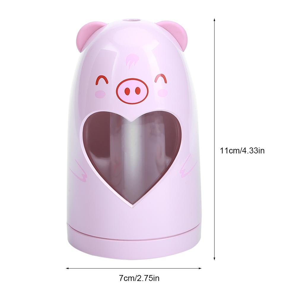 Mist Humidifier Ultrasonic USB Portable Air Humidifiers Purifier for Cars Office Desk Home Babies kids Bedroom 180ML Mini Desktop Cup Humidifier(Pig) by YosooXX (Image #3)