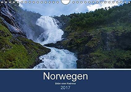 Norwegen 2017 - Bilder einer Radreise (Wandkalender 2017 DIN A4 quer)