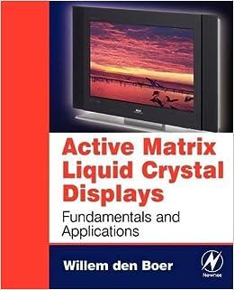 amazon active matrix liquid crystal displays fundamentals and