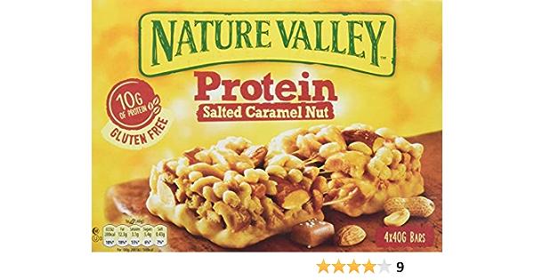 Nature Valley - Barritas de Proteinas con Salted Caramel Nut ...
