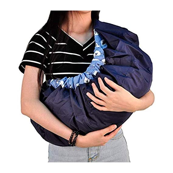 Ineffable Multi-Carrying Positions Adjustable Baby Carrier Cum Kangaroo Bag Sling Wrap Bagpack Nursing Pouch for
