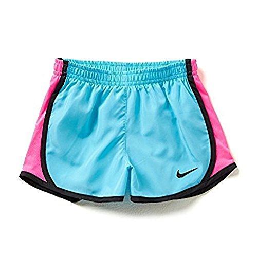 Nike 3.5 Girls Tempo Pantaloncini Da Corsa Blu Chiaro