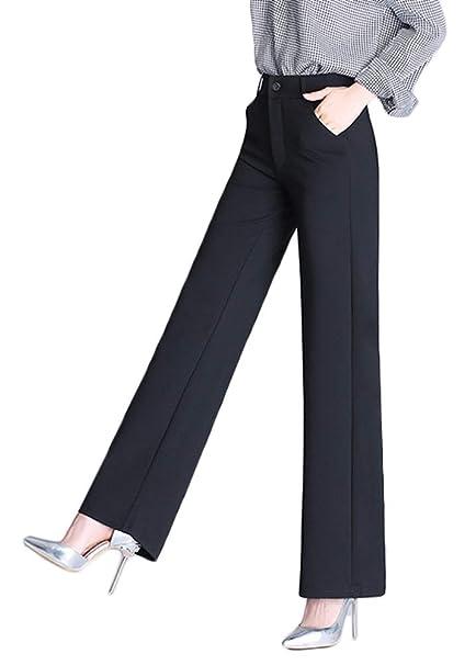 Amazon.com: AvaCostume - Pantalones de mujer de cintura alta ...