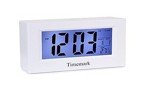 TIMEMARK Despertador con Sensor de luz