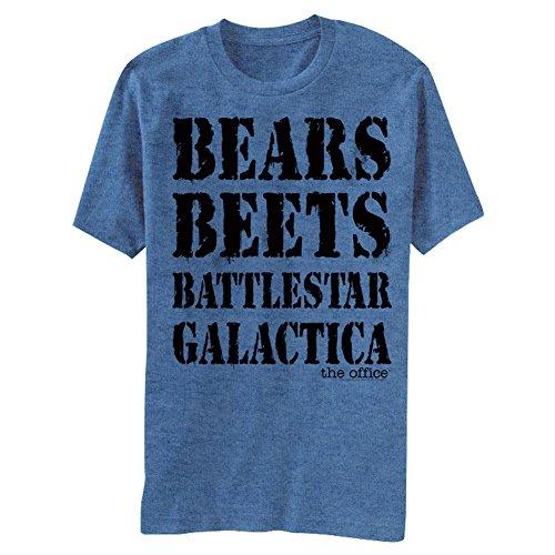 The Office T-shirt - Bears Beets Battlestar Galactica