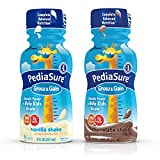 PediaSure Grow & Gain Nutrition Shake Variety Pack Ready-to-Drink 8 fl oz Bottles (Pack of 24)