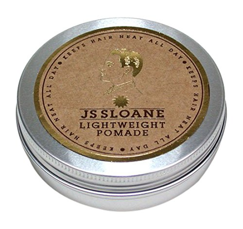 Lightweight Pomade (JS Sloane Lightweight Pomade 3.4oz)