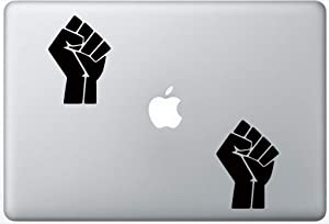 Black Lives Matter Symbol ArcDecals78600209 Set Of Two (2x) , Decal , Sticker , Laptop , Ipad , Car , Truck