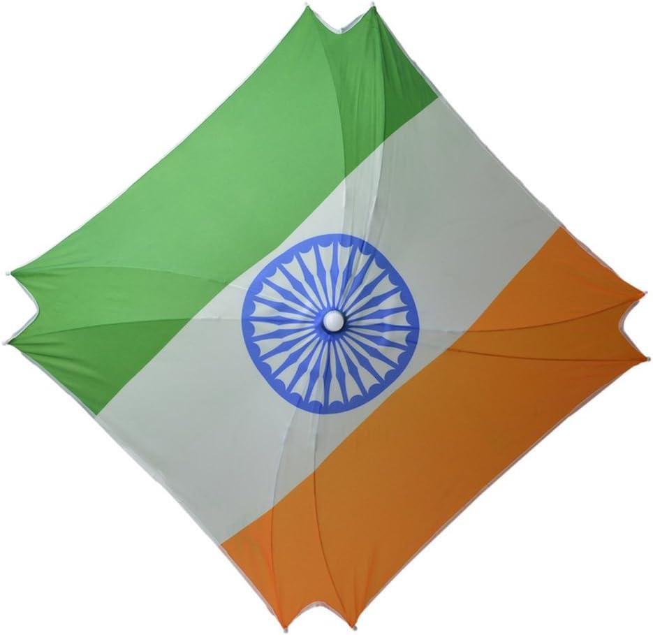 Sombrero de Paraguas con la Bandera India Impresa: Amazon.es: Equipaje