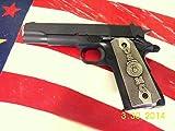 Colt Kimber Full Sized 1911 Marines Marine USMC Pewter Pistol Gun Grips