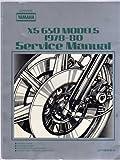 Yamaha XS 650 Models 1978-80 Service Manual