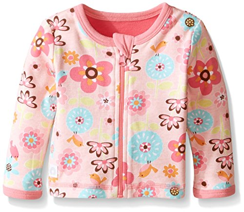 Boppy Girls' Reversible Cardigan, Pink, New Born