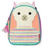 Skip Hop Zoo Kids Insulated Lunch Box, Luna Llama, 9''x3.25''x7.5'', Pink