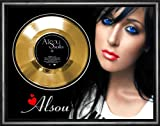 Alsou Solo Gold Vinyl Record Framed Display