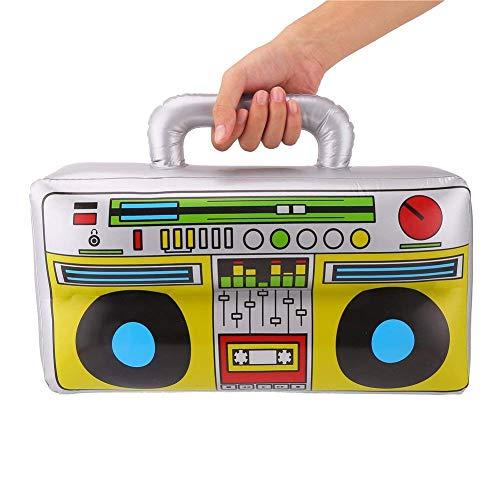 MunchieMoosKids - Caja hinchable con diseño de jugador de música ...