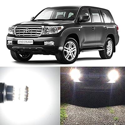 Alla Lighting 2pcs Super Bright 6000K White LED Bulbs for Exterior Interior Light Lamps for 2001 ~ 2014 Dodge Ram 1500