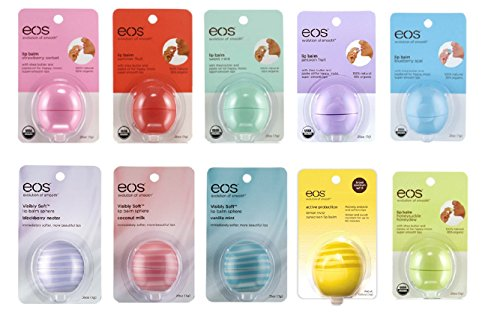 Eos Lip Balm 10 Pack