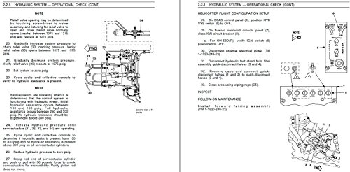 Helicopter Technical Manual - U.S. Army Bell 206A JetRanger OH-58D Kiowa Helicopter TECHNICAL MANUAL OPERATIONAL CHECKS AND MAINTENANCE ACTION PRECISE SYMPTOMS (MAPS) DIAGRAMS