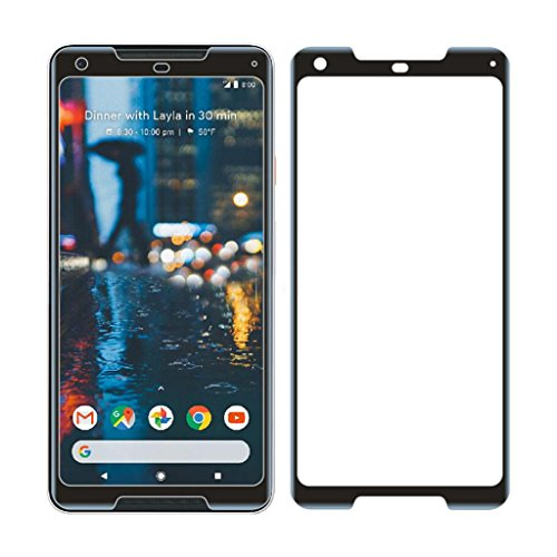 Screen Protector,Sunfei Tempered Glass Screen Protector Protective Film Cover For Samsung Galaxy C8,HUAWEI Mate 10 Pro,Google Pixel 2,Google Pixel 2 XL (Black for Google Pixel 2 - Glasses Terminator Google