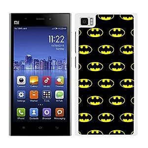 Funda carcasa para Xiaomi MI3 estampado Batman superhéroe borde blanco