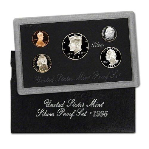 1995 S US Mint Silver Proof Set OGP 1995 Mint Set