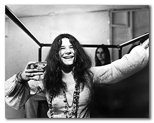 Globe Photos ArtPrints Janis Joplin Backstage - 14