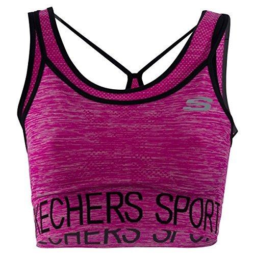 Skechers Mujer Sujetador Deportivo Active Gimnasio Running Ropa ...