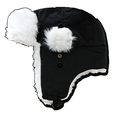 DECKY Faux Fur Trooper Aviator Style Winter Hat at Amazon Men s ... 2d01d3534ef