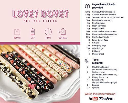 Amazon.com: PinaFirst Lovey Dovey Pretzel - Caja de cocina ...