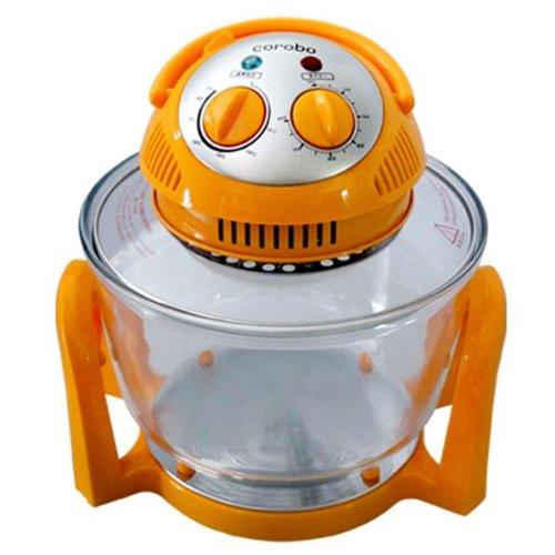 Coo-Fun エアーフライもできるカーボンコンベクションオーブン corobo(オレンジ) CKY-19QO B00C52EPFW  オレンジ